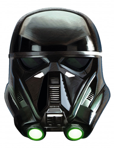 Karton Maske Death Trooper - Star Wars Rogue One™