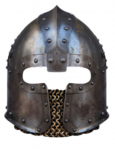 Karton Maske Normannenhelm