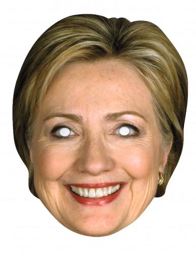 Hillary Clinton Papp-Maske
