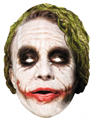 Karton Maske Joker™ Dark Knight