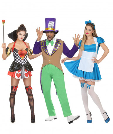 Kostüm für eine Gruppe im Wunderland