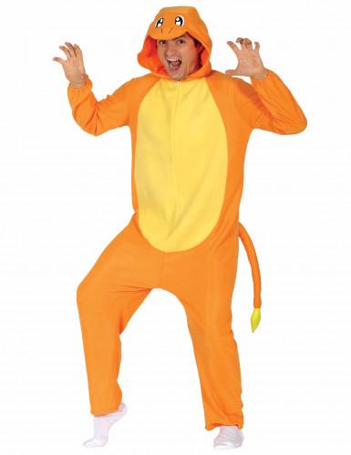 Kostüm Nagetier orange für Erwachsene