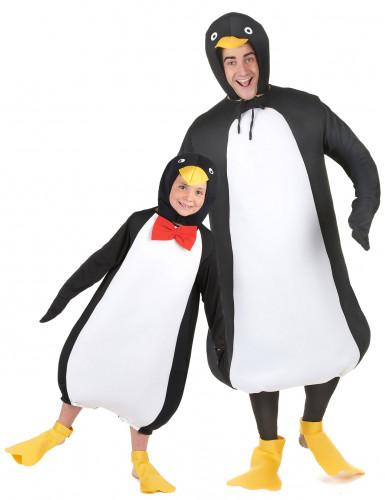 Pinguin Kostüm für Vater und Sohn