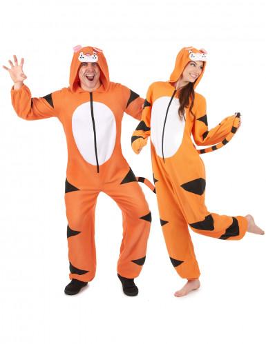 Paarkostüm Tiger für Erwachsene