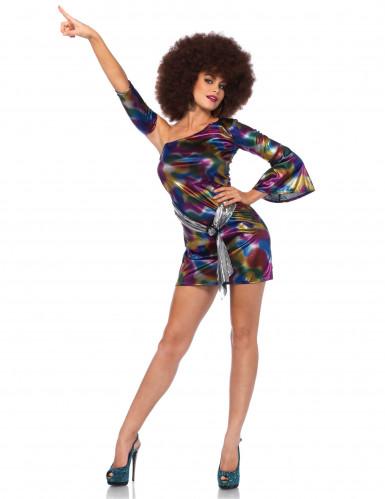 sexy Kostüm holografisch für Damen