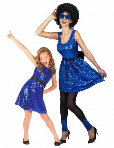 Kostüm Disco für Mutter und Tochter