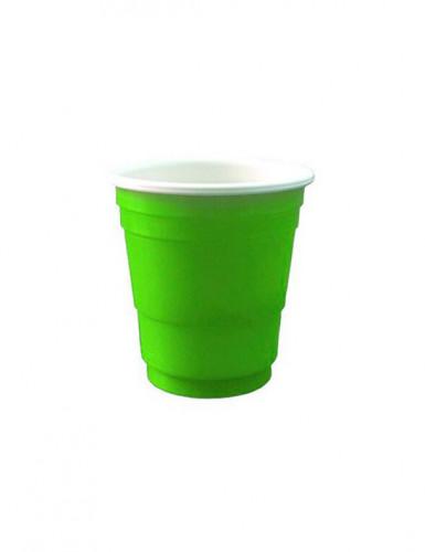 20 Shot-Becher 4cl grün