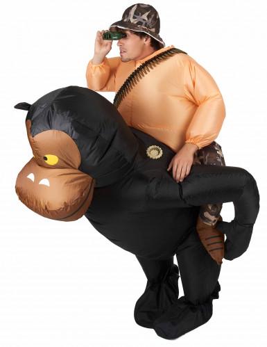 Aufblasbares Carry Me™ Affenkostüm