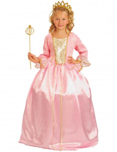 Kostüm rosa Prinzessin für Mädchen