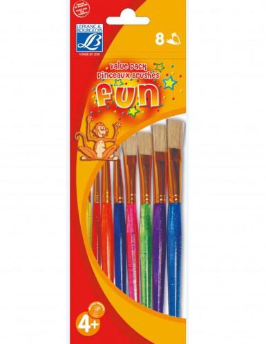 8 farbige Pinsel von Lefranc & Bourgeois®