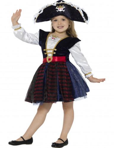 Piraten Kostüm für Mädchen-1