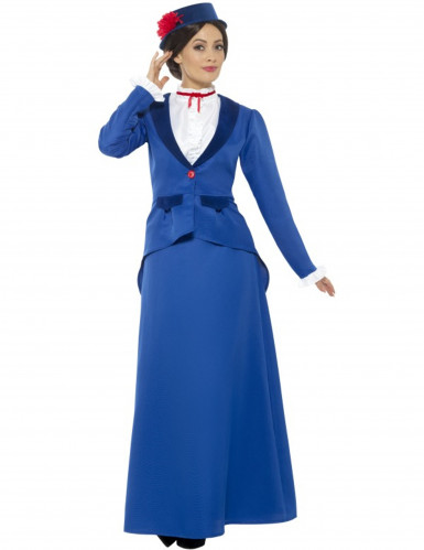 Damen Kindermädchen Kostüm