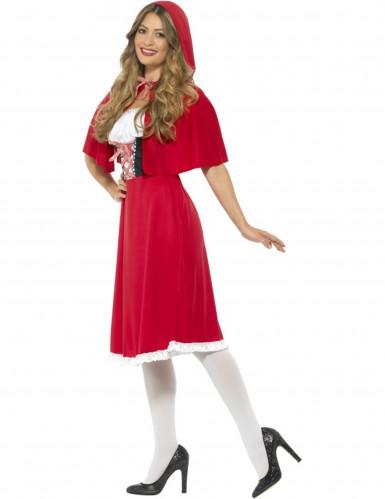 Kostüm Miss Prinzessin in Rot Damen-1