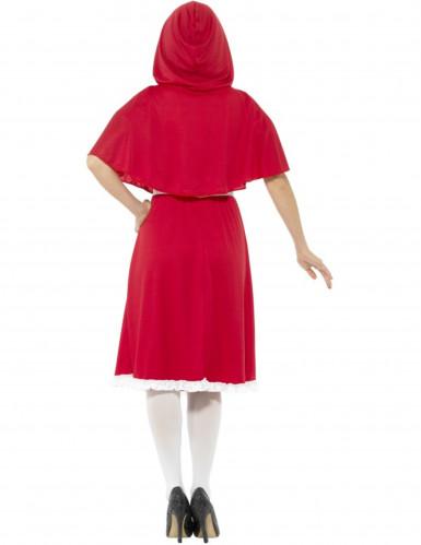 Kostüm Miss Prinzessin in Rot Damen-2