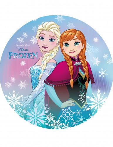 Disney™-Tortenaufleger die Eiskönigin™bunt 20cm