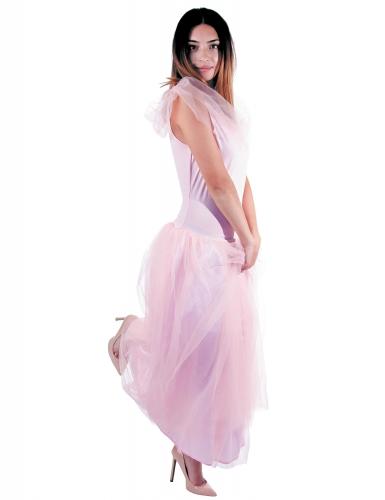 Kostüm Romantische Prinzessin rosa für Damen-1