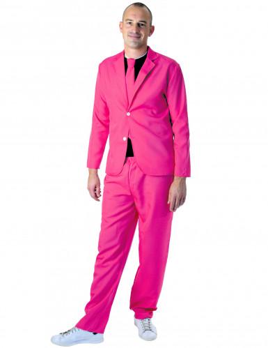 Pinker Anzug für Männer