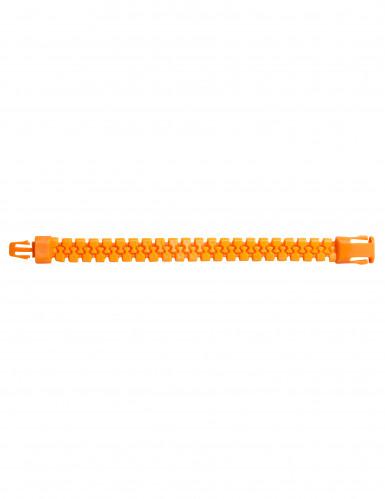 Neon Oranges Reißverschluss Armband
