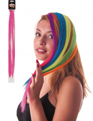 Rosa Haarsträhne