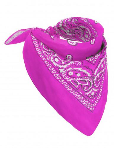 Bandana neon rosa für Erwachsene