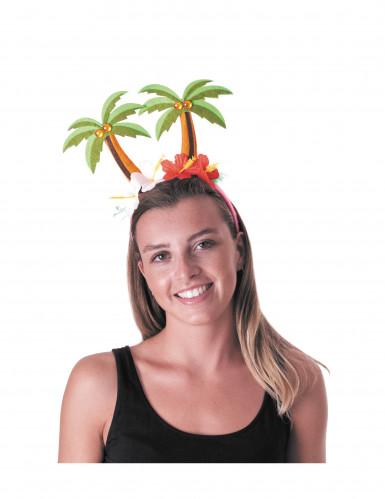 Hawaii Palmen-Haarreif für Erwachsene