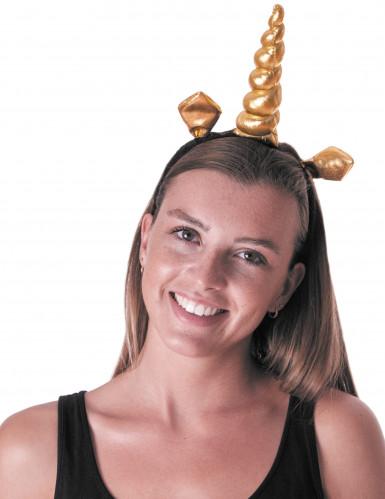 Original wählen mehr Fotos beste Schuhe Stirnband goldenes Einhorn Erwachsene