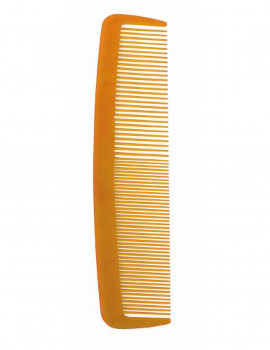Riesiger Kamm für Clowns orange