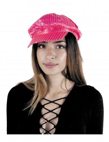 Schirmmütze in Neonrosa für Erwachsene