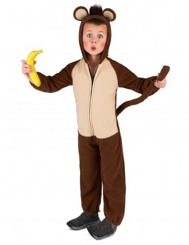 Affen-Kostüm für Kinder Overall braun-beige-1