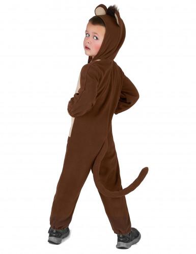 Affen-Kostüm für Kinder Overall braun-beige-2