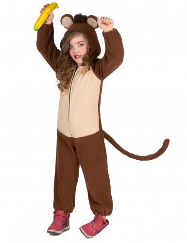 Affen-Kostüm für Kinder Overall braun-beige-3