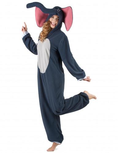 Elefanten Kostüm für Damen-1