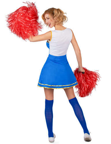 Kostüm USA Cheerleader für Damen-2