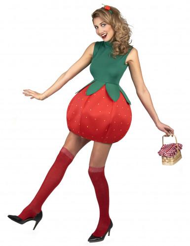 Erdbeerkostüm für Damen-1