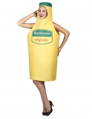Kostüm Mayonnaise für Erwachsene-2