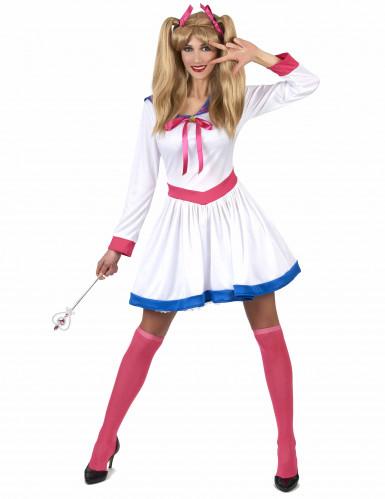 Sailor-Kriegerin Kostüm für Damen