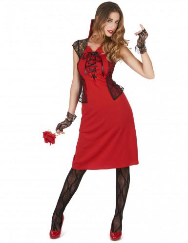 Sexy Vampir Kostüm für Damen