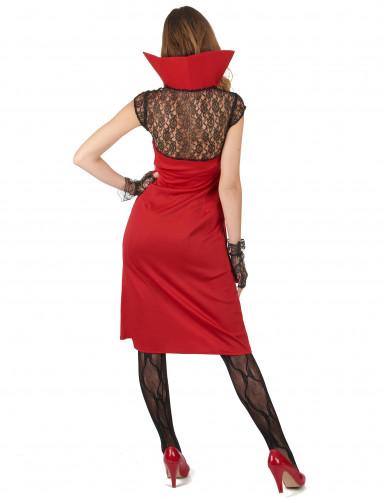 Sexy Vampir Kostüm für Damen-1