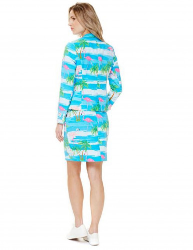 Opposuits™ Damenkostüm Flamingirl-1