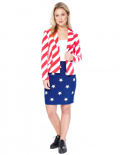 Opposuits™ Damenkostüm American Woman