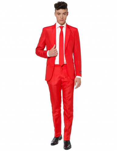 Roter Herrenanzug Mr. Solid Suitmeister™