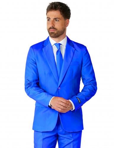 Blauer Herrenanzug Mr. Solid Suitmeister™-1