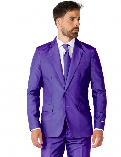 Suitmeister™Anzug Mr Solid violett-1