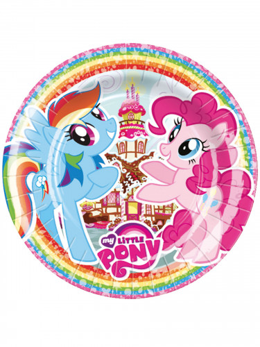 8 Partyteller My Little Pony™ 23 cm