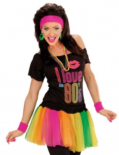 Farbiges Neon Tutu für Damen