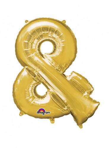 Aluminium Ballon Symbol & 76 x 9cm