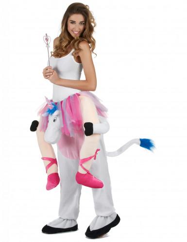 Kostüm Tänzerin auf Einhorn für Erwachsene-1