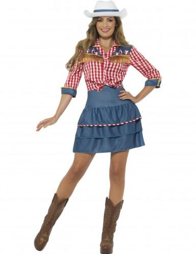 Kostüm Miss Rodeo für Frauen