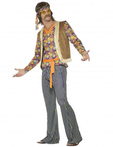 Kostüm Hippie-Sänger 60er Jahre Herren-2