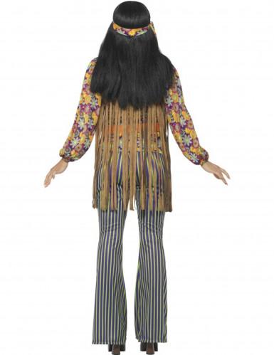 Hippie-Sängerin-Kostüm für Damen 60er-Jahre-1